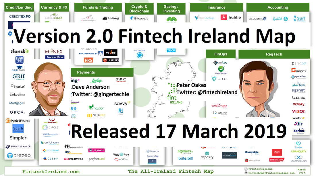 Map Of Ireland On Your Face.Fintech Ireland Map